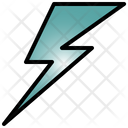 Lightning Powerful Light Icon