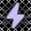 Lightning Energy Love Icon