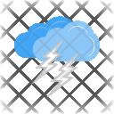 Lightning Cloud Icon