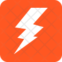 Lightning Thunder Bolt Icon