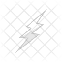 Lightning Bolt Thunder Icon