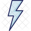 Blast Lightning Bolt Powerful Light Icon