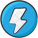 Camera Flash Lightning Bolt Thunder Bolt Icon