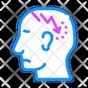 Lightning Headache Lightning Neurosis Icon