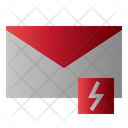 Mail Lightning Message Icon