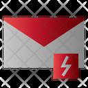 Lightning Mail Icon