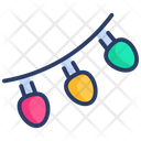 Christmas Christmas Lights Decoration Icon