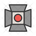 Lights Spotlight Focus Icon