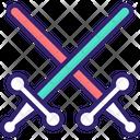 Lightsaber Sword War Tool Icon