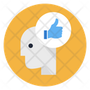 Like Support Head Icon