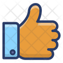 Like Social Media Like Communication Icon
