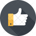 Like Thumbsup Review Icon