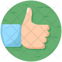 Thumbs Up Feedback Appreciation Icon