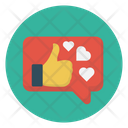 Like Love Chat Icon