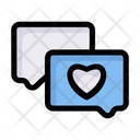 Like Love Heart Icon