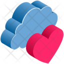 Like Heart Love Icon