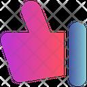 Sign Hand Thumb Icon