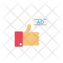 Ad Like Advertise Icon