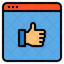 Feedback Like Hand Icon