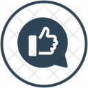Feedback Review Positive Icon