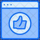 Like Feedback Website Icon