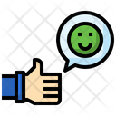 Like Good Review Smile Icon