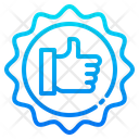 Like Badge Icon