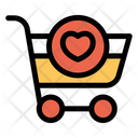 Cart Favorite Heart Icon