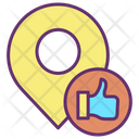 Mlike Map Location Like Location Location Feedback Icon