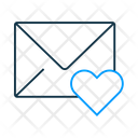Like Mail Icon