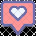 Love Like Greeting Icon