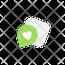 Like Message Like Heart Icon