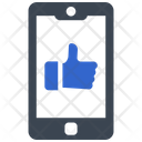 Like On Mobile Icon