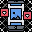 Photo Phone Like Icon