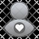 Like User Love User Icon