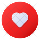 Liked Song List Heart Icon