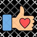 Likes Like Love Icon