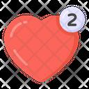 Likes Notifications Heart Notifications Likes Notify Icon