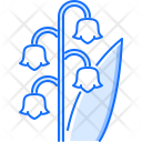 Lily Valley Flower Icon