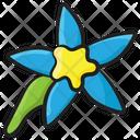 Alstroemeria Lavender Flower Lily Icon