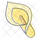 Lily Flower Plant Icon