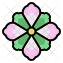 Lily Petals Botanical Icon