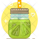 Lime Smoothie Drink Icon