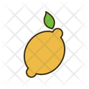 Lime Lemon Fruit Icon