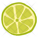 Lime Green Fruit Icon