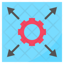 Limit Restrict Expand Icon