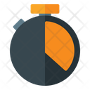 Limited Time Game Timer Stopwatch Icon