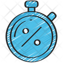 Discount Timer Stopwatch Sales Icon