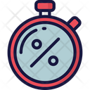 Discount Timer Sales Cyber Monday Icon