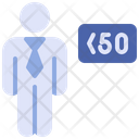 Limited Worker Worker Man Icon